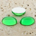 Peridot Jewel - 8x6mm. Oval Domed Cabochons - Lots of 144