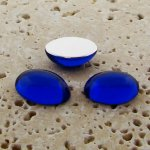 Sapphire Jewel - 8x6mm. Oval Domed Cabochons - Lots of 144