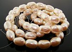 CULTURA 14X10MM BAROQUE OVAL JAPANESE PEARLS - Lot of 54