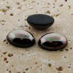 Hematite - 6x4mm. Oval Domed Cabochons - Lots of 144