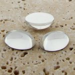 Crystal Jewel - 8x6mm. Oval Domed Cabochons - Lots of 144