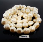 CULTURA 16MM BAROQUE NUGGET JAPANESE PEARLS - Lot of 50