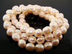 CULTURA 11X9MM BAROQUE OVAL JAPANESE PEARLS - Lot of 73