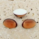 Topaz Jewel - 8x6mm. Oval Domed Cabochons - Lots of 144