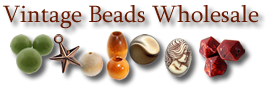 Vintage Beads Wholesale - Vintage Beads, Cabochons & Jewelry Making Supplies [home link]